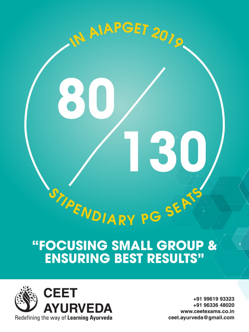 FOCUSING SMALL GROUP AND ENSURING BEST RESULTS